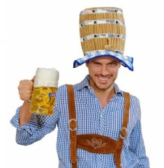 Bavarian Beer Keg Hat (0064)